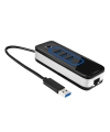 Hub multifunctional USB 3.0 Ethernet IHUB-04 Blister