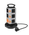 Prelungitor 11 prize universale + 2 X USB Haweel Smart Blister Original
