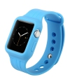 Bratara TPU Apple Watch 38mm Baseus Fresh Color albastra Blister Originala