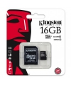 Card memorie Kingston MicroSDHC 16Gb Clasa 10 UHS-I Blister