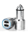 Adaptor auto Dual USB Teclast CCM202 2.4A Argintiu Blister Original