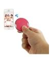 Mini declansator camera telefon Bluetooth Circle roz