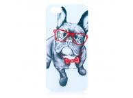 Husa plastic Apple iPhone 5 Dog