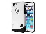 Husa plastic Apple iPhone 5 SLiCOO Cobblestone argintie Blister