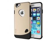 Husa plastic Apple iPhone 5 SLiCOO Cobblestone aurie Blister
