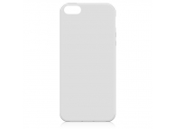 Husa silicon TPU Apple iPhone 5 alba