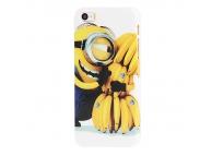 Husa plastic Apple iPhone 5 Minion Banana