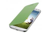 Husa piele Samsung I9500 Galaxy S4 EF-FI950BG Verde Blister Originala