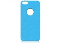 Husa silicon TPU Apple iPhone 5 Premium albastra