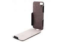 Husa piele Apple iPhone 5 Konkis Helm One Flip Blister Originala