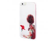 Husa plastic Apple iPhone 5 Windmill Girl Blister