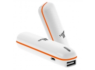 Incarcator mobil de urgenta 2600mA Haweel portocaliu Blister Original