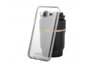Husa silicon TPU Samsung Galaxy J5 Kisswill transparenta Blister Originala