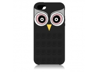 Husa silicon Apple iPhone 5 Owl 3D