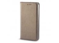 Husa Piele Samsung Galaxy J5 Case Smart Magnet aurie
