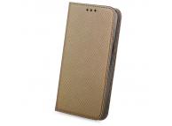 Husa Piele Samsung Galaxy J5 Case Smart Magnet bronz