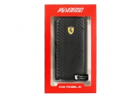Husa piele Apple iPhone 5 Ferrari FEFLIP5C Blister Originala