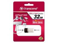 Memorie externa OTG USB Type-C Transcend JetFlash 890S 32GB Blister