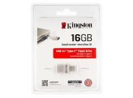 Memorie externa OTG USB Type-C Kingston DataTraveler microDUO 3C 16Gb Blister