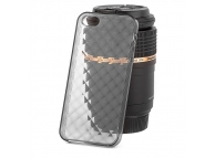 Husa silicon TPU Apple iPhone 5 Diamond gri