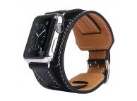 Curea Piele Apple Watch 42mm Kakapi Metal Buckle Blister Originala
