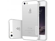 Husa silicon TPU Apple iPhone SE Nillkin Nature transparenta Blister Originala