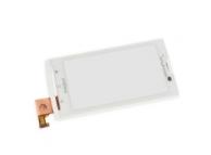 Carcasa fata cu touchscreen Sony Ericsson Xperia X10 alba Originala