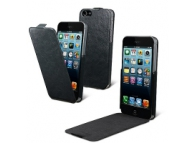 Husa piele Apple iPhone 5 Muvit iFlip MUSSL0042 Blister Originala