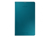 Husa piele Samsung Galaxy Tab S 8.4 LTE SM-T705 EF-DT700BL albastra Blister Originala
