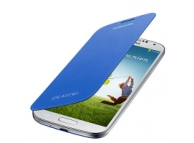 Husa piele Samsung I9500 Galaxy S4 EF-FI950BC albastra Blister Originala