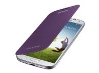Husa piele Samsung I9500 Galaxy S4 EF-FI950BV mov Blister Originala