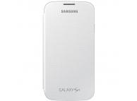 Husa piele Samsung I9500 Galaxy S4 EF-FI950BW alba Originala