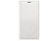 Husa piele Samsung Galaxy S5 G900 EF-WG900BW alba Blister Originala