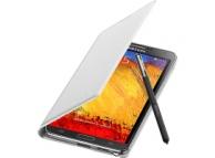 Husa piele Samsung Galaxy Note 3 EF-WN900BW alba Blister Originala