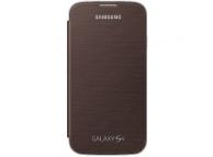 Husa piele Samsung I9500 Galaxy S4 EF-FI950BA maro Blister Originala