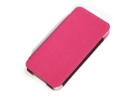 Husa piele Apple iPhone 5 Kalaideng Charming2 roz Blister Originala