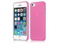 Husa plastic Apple iPhone 5 Slim roz