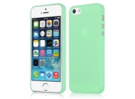Husa plastic Apple iPhone 5 Slim verde