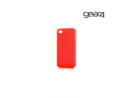 Husa plastic Apple iPhone 4 Gear4 Thin Ice rosie Blister Originala