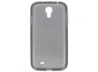 Husa silicon TPU Samsung I9500 Galaxy S4 EF-AI950B gri Originala
