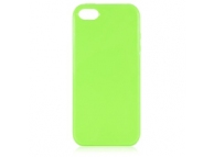 Husa silicon TPU Apple iPhone 5 verde