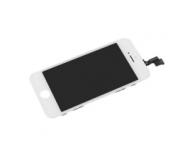 Display cu touchscreen si rama Apple iPhone 5s alb