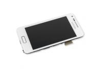 Display cu touchscreen Samsung I9070 Galaxy S Advance cu rama alb Original