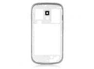 Carcasa mijloc Samsung Galaxy S Duos S7562 alba Originala