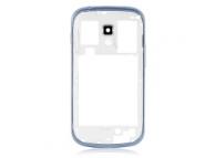 Carcasa mijloc Samsung Galaxy S Duos S7562 bleumarin Originala
