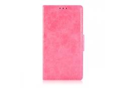 Husa piele Microsoft Lumia 535 Wallet roz