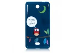 Husa silicon TPU Microsoft Lumia 430 Dual SIM Night Owl