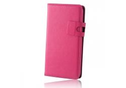 Husa piele Samsung Galaxy Xcover 3 SM-G388F Smart Plus roz