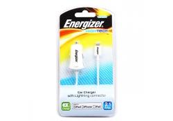 Incarcator auto Energizer LCHEHCCIP5 Lightning 2.1A alb Blister Original