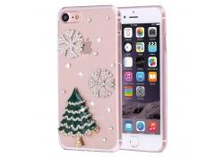 Husa silicon TPU Apple iPhone 7 Christmas tree